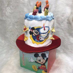 Disney Mickey Mouse birthday cake hat lights up